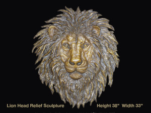 MN100 Lion Head Relief UPD