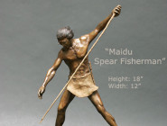 Maidu Spear Fisherman
