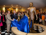 MON-RR DVH unveiling Ronald Reagan