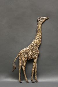 6x9 Giraffe Relief